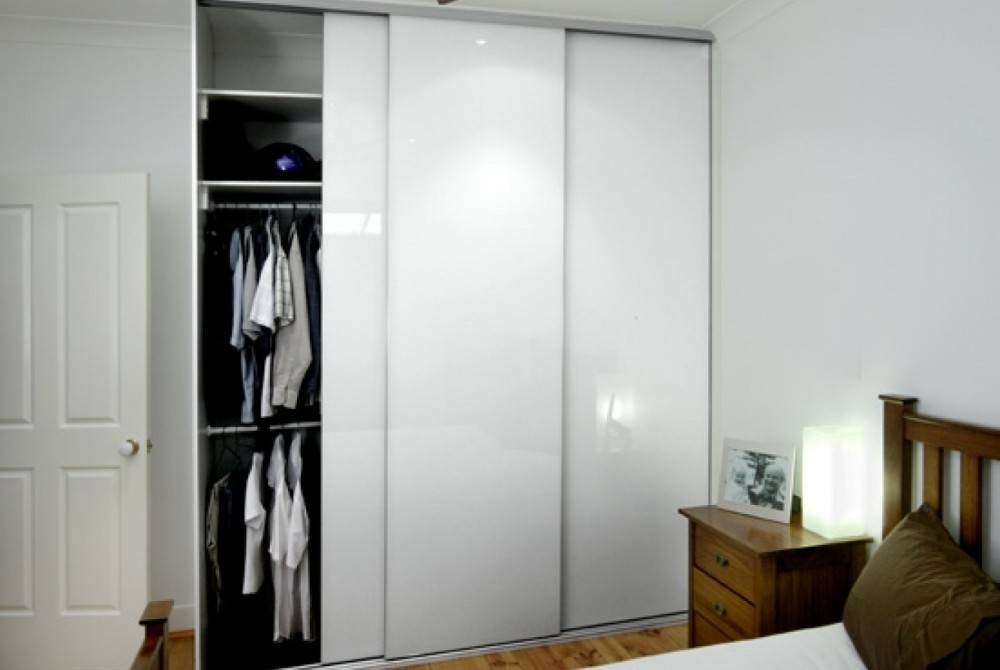 Painted Glass Closet Doors Edmonton