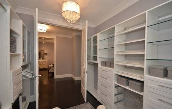 Closet shelving products
